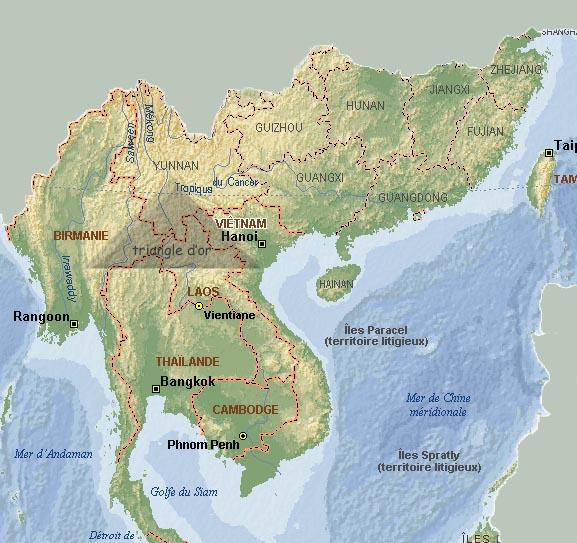 Peuples Du Monde Asie Du Sud Est Continentale Géographie