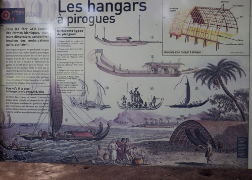 reconstitution des hangars a pirogue (Taputapuatea)